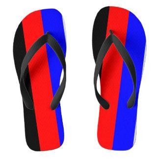 Polyamory Pride Flip Flops