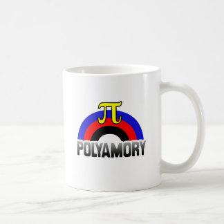 POLYAMORY RAINBOW FLAG CLASSIC WHITE COFFEE MUG