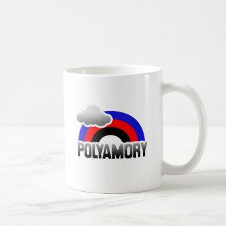 POLYAMORY RAINBOW CLASSIC WHITE COFFEE MUG