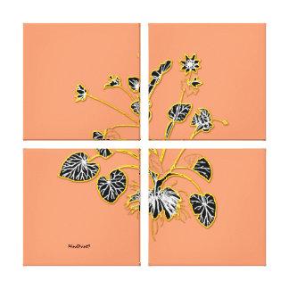 Polyandria : Botanical Garden Canvas Print