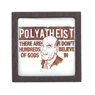 Polyatheist Jewelry Box