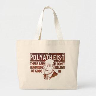 Polyatheist Large Tote Bag