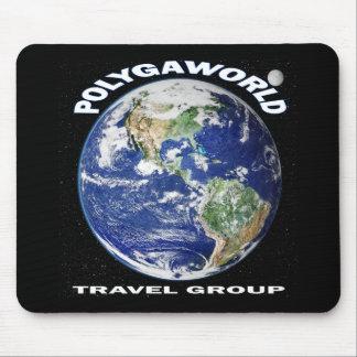 Polyaworld Travel Group Mouse Pad