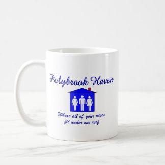 Polybrook Haven Classic White Coffee Mug