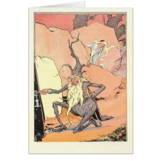 Polychrome sees Ruggedo escaping Greeting Card