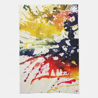 Polychromoptic #13B by Michael Moffa Hand Towel
