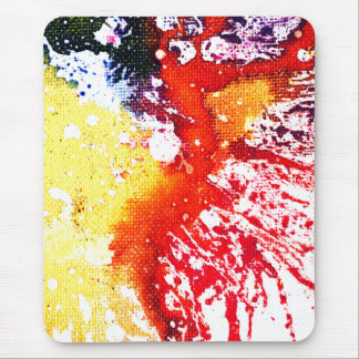 Polychromoptic #13C by Michael Moffa Mouse Pad