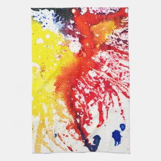 Polychromoptic #13C by Michael Moffa Towel