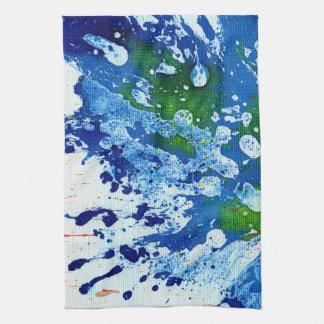 Polychromoptic #14B by Michael Moffa Hand Towel