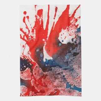 Polychromoptic #15A by Michael Moffa Kitchen Towel