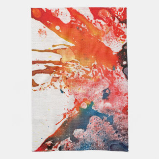 Polychromoptic #15B by Michael Moffa Towel