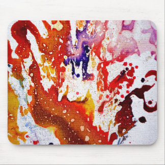 Polychromoptic #1A by Michael Moffa Mouse Pad