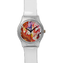 Polychromoptic #1A by Michael Moffa Wrist Watch