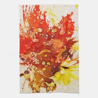 Polychromoptic #9 by Michael Moffa Towel