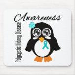 Polycystic Kidney Disease Awareness Penguin Mouse Pads