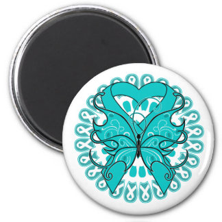 Polycystic Kidney Disease Circle of Ribbons Magnets