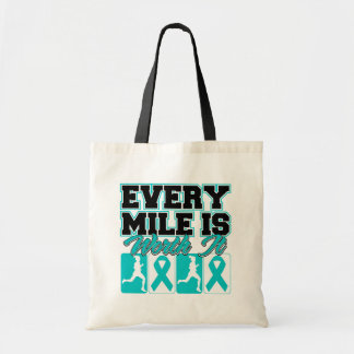 Polycystic Kidney Disease Every Mile is Worth It Canvas Bag