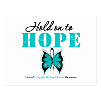 Polycystic Kidney Disease Hold On To Hope Post Card