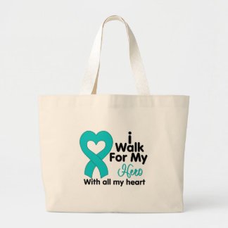 Polycystic Kidney Disease I Walk For My Hero Tote Bag