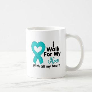 Polycystic Kidney Disease I Walk For My Hero Classic White Coffee Mug
