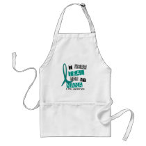 Polycystic Kidney Disease PKD Teal For Nana 37 Adult Apron