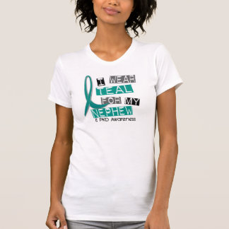 Polycystic Kidney Disease PKD Teal For Nephew 37 T-Shirt