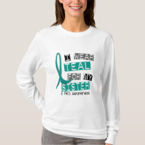 Polycystic Kidney Disease PKD Teal For Sister 37 T-Shirt