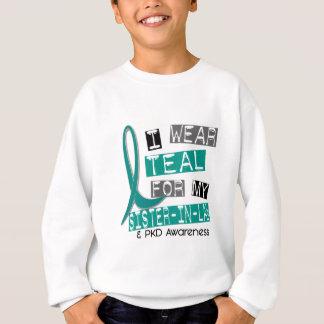 Polycystic Kidney Disease PKD Teal For Sister-In-L Sweatshirt