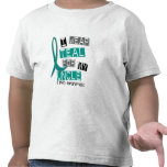 Polycystic Kidney Disease PKD Teal For Uncle 37 T Shirt