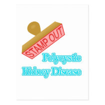Polycystic Kidney Disease Postcard