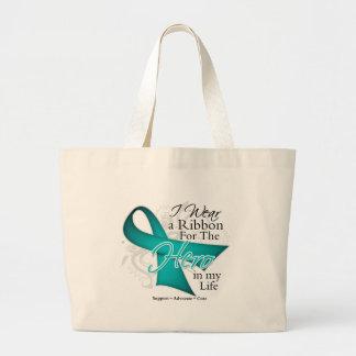 Polycystic Kidney Disease Ribbon Hero in My Life Bag