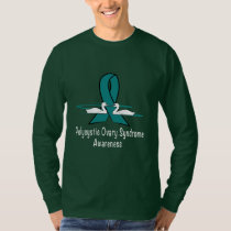 Polycystic Ovary Syndrome Awareness T-Shirt