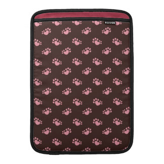 Polydactyl Cat Paw Print Heart Sleeve For MacBook Air