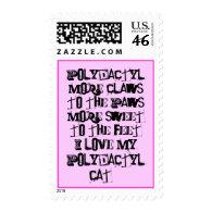 Polydactyl Pride Stamp.