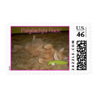 Polydactyls Rock! Stamps