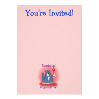 Polydactyls Rule! Personalized Invitations