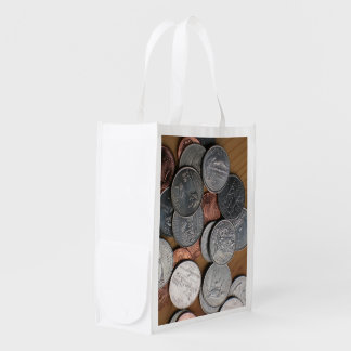 Polyester Bag - Coins on Table