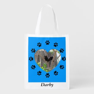 Polyester Bag - Framed Pet Photo