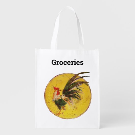 Polyester Bag - Good Morning Rooster