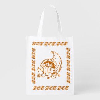 Polyester Bag - Horn of Plenty Grocery Bag