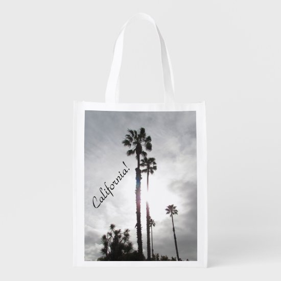 Polyester Bag - Palm Tree Silhouette