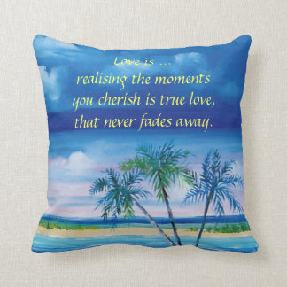 Polyester Cushion 41 cm x 41 cm Throw Pillow