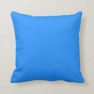 Polyester Cushion – Dodger Blue - 41 cm x 41 cm Throw Pillow