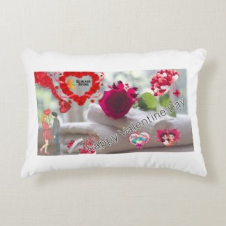 Polyester pillow for Valentine's Day