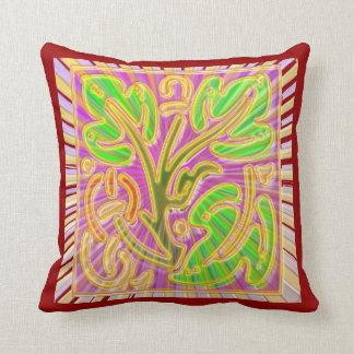 """Polyester Throw Pillow 16"""" x 16"""" FineArt Graphic d"""