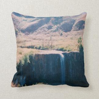 Polyester Throw Pillow Waterfall
