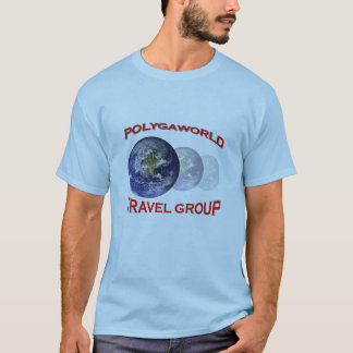 Polygaworld Travel Group t-shirt light