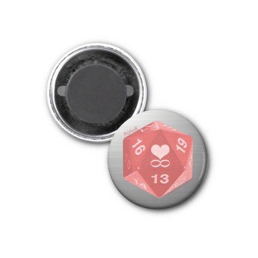 PolyGeek Magnet - Pink