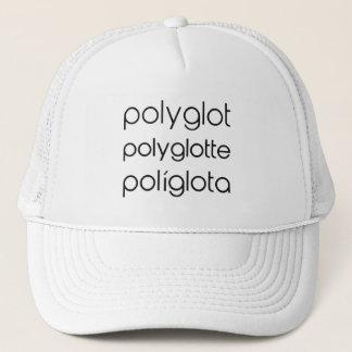 Polyglot Polyglotte Polyglota Multiple Languages Trucker Hat