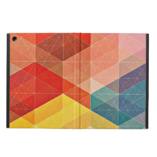 Polygon Abstract Cover For iPad Air